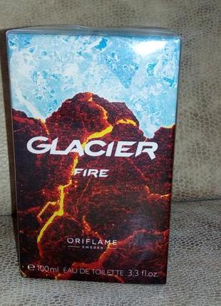 Туалетная вода glacier fire