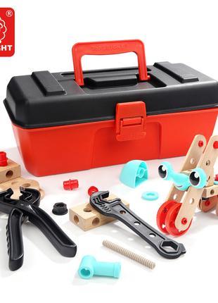 Детский набор строительных инструментов в чемодане Top Bright