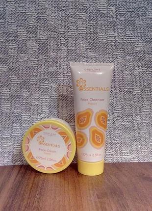 Набор для лица essentials papaya