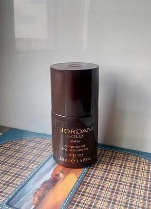 Шариковый дезодорант-антиперспирант giordani gold man