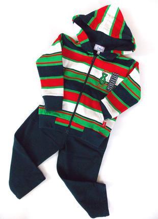 Теплый костюм на мальчика 2-3 года
