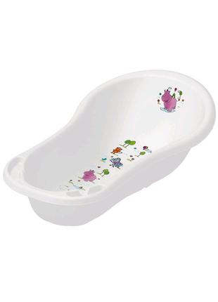 Детская ванночка Keeeper Hippo 100 см Белая (8437.91(AB))