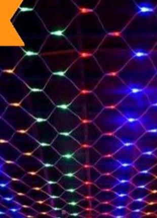 Гирлянда новогодняя светодиодная сетка