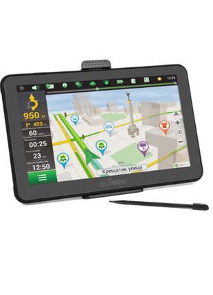 Навигатор GPS Globex GE711 + карты