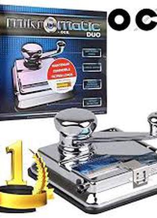 Машинка для набивки сигаретных гильз табаком Ocb Mikromatic Duo