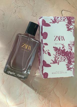 Духи zara red vanilla/жіночі парфуми /туалетная вода /туалетна...
