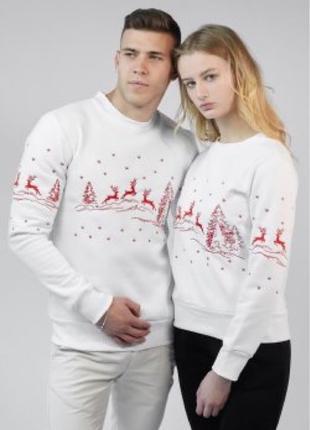 Парные свитера праздничные