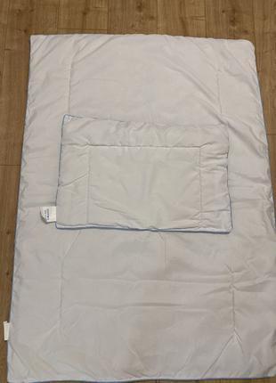 Набор одеяло и подушка для новорожденного