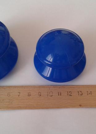 Вакуумные силиконовые массажные банки, набор 3шт для массажа