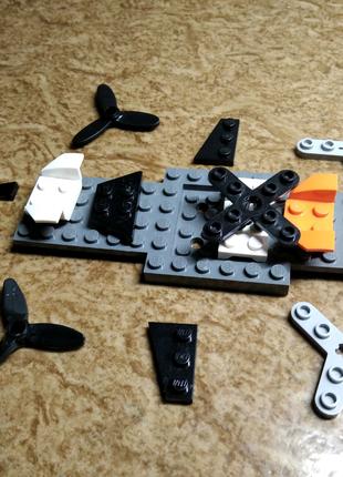 LEGO Детали для создания Лего самолёта-верталёта-ракеты