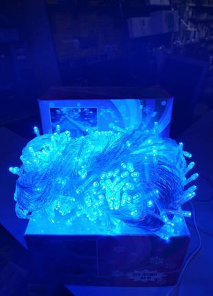 Гирлянда светодиодная NY - 500 LED x 40м Blue