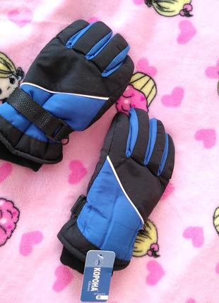 Лижние, подростковие, зимние спортивние перчатки