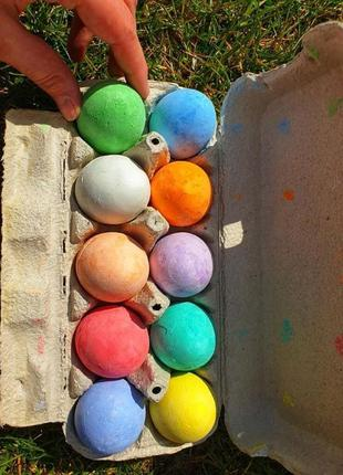Мелки в форме яиц