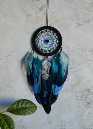 Ловец снов, ocean, декор и оберег, ориг. подарок близким и родным