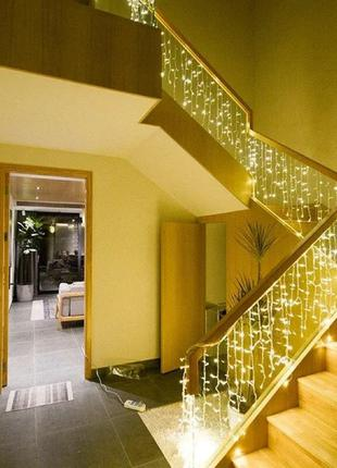 Гирлянда Бахрома 3х0,6 метра 108 LED / Premium