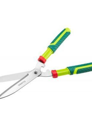 Ножницы садовые Verto для огорожі прямі 550 mm