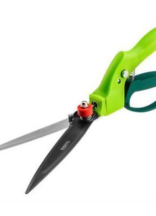 Ножницы садовые Verto для трави 340 mm, багатопозиційні