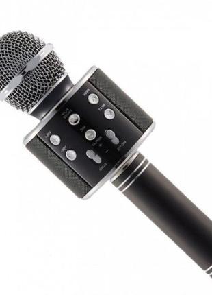 Микрофон WS-858 WSTER BLACK. Цвет: черный