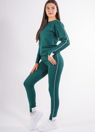 Спорт костюм женский  зеленый