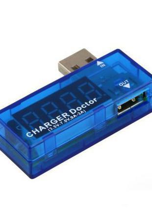 USB тестер - индикатор напряжения и тока