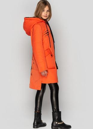 Куртка для девочки, подростковая, демисезонная