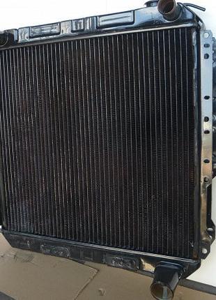 Радиатор охлаждения двигателя МАЗ 4-х рядный