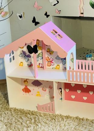 Домик для кукол , кукольный домик для Барби, ЛОЛ