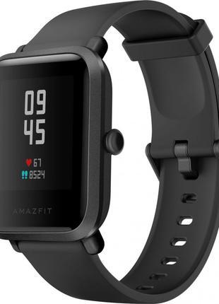 Смарт Годинник Amazfit Bip S Carbon Black Умные Часы