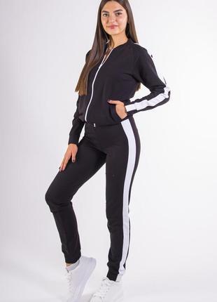 Спорт костюм женский черный