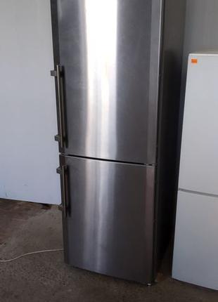 Холодильник LIEBHERR Нерж. 180см. с Германии