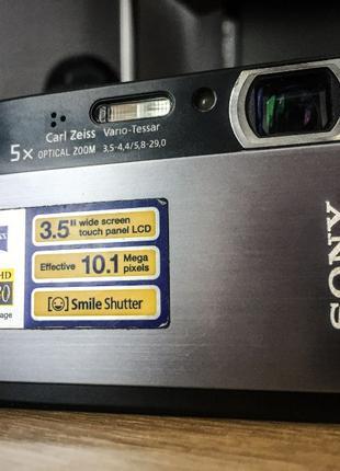 Фотоапарат SONY DSC-T300 Black