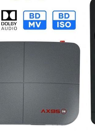 ТВ підписка+ AX95 db 4/32(аналог X3 Cube pro)Android tv box прист