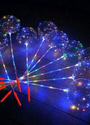 Воздушный светодиодный шар бобо