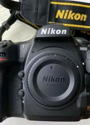 Nikon D850 пробег 9000, чехол в подарок