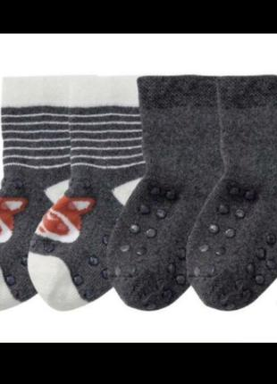 Махровые носочки.lupilu