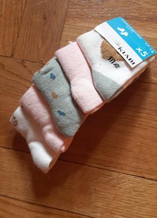 Носочки для маленькой модницы. kiabi