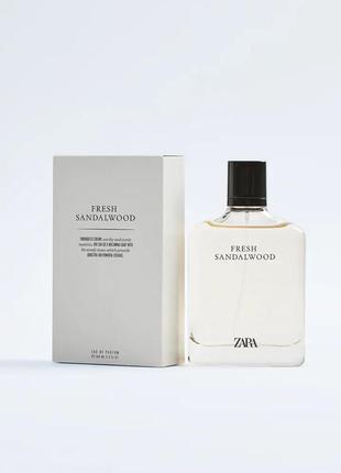 Zara fresh sandalwood 100ml edp