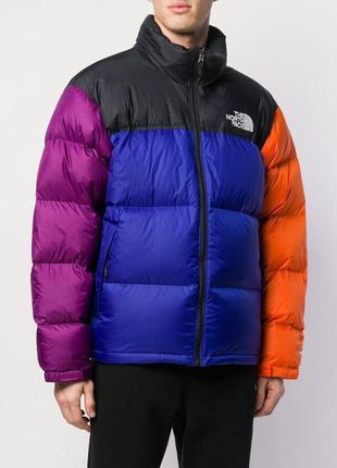 Мужской разноцветный зимний пуховик tnf multicolor