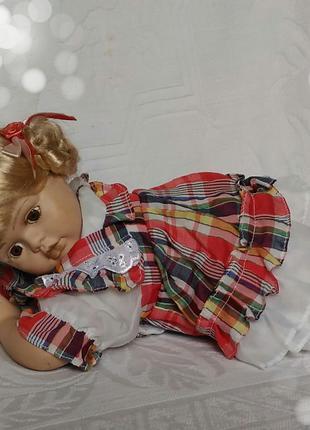 Кукла-пупс коллекционная фарфоровая