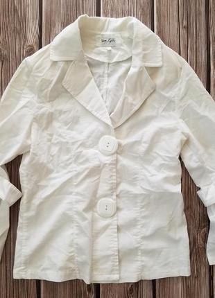 Белый жакет, женский пиджак, одежда для офиса, белый жакет с р...