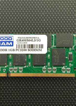 Модуль памяти SODIMM DDR 1GB 400 MHZ GOODRAM • GR400S64L3/1G