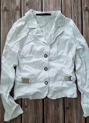 Белый пиджак, офисная женская одежда, школьная форма для девоч...