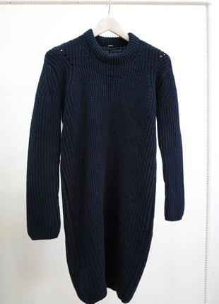 Распродажа! вязаное хлопковое платье denham