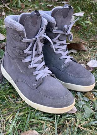 Lowa зимние ботинки samara gtx