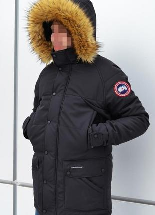 Зимняя парка куртка emory parka (черная)