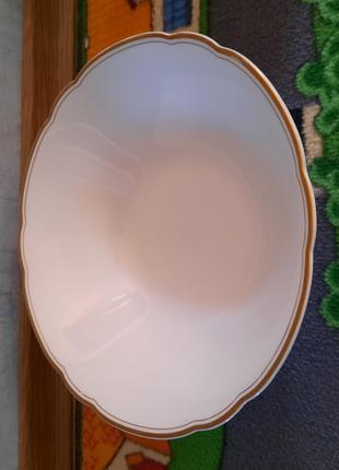 Салатница новая СССР диаметр 25 см