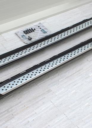 Подножки BMW X6 E71 пороги площадки