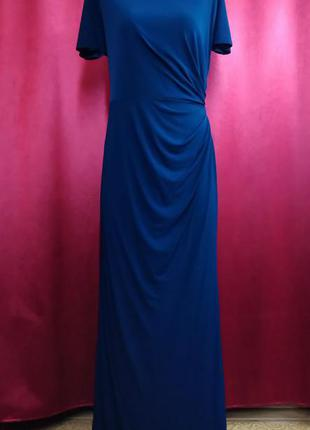 Платье вечернее с коротким рукавом