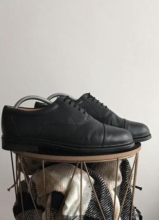 Мужские кожаные туфли amblers