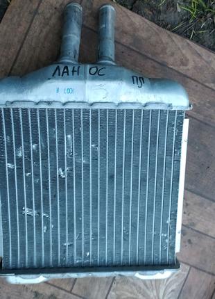 Ланос радіатор пічки